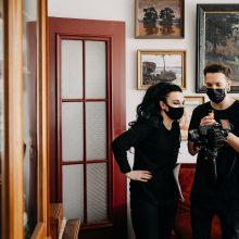 Detalės: filmo kūrimas reikalauja ypatingo kruopštumo – dėl kelių sekundžių kadro tenka dirbti daug valandų.