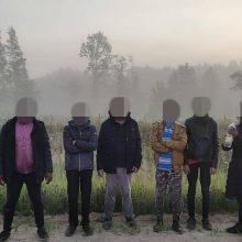 Pasieniečiai apgręžė 149 migrantus: neteisėtai kirtus sieną įtaria ir Baltarusijos pareigūną