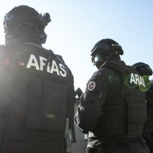 """Daržovių rūšiavimo sandėlyje rasta granata: prireikė """"Aro"""" pareigūnų"""