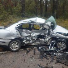 Varėnos rajone – skaudi nelaimė: per avariją žuvo vyras