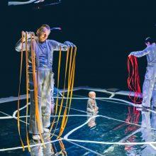 Choreografė B. Banevičiūtė pastebi: meniniai patyrimai kūdikiams atveria kelią į kūrybiškumą