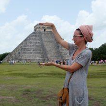 Hipių rojaus ir majų civilizacijos liekanų pavilioti