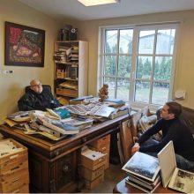 Kartos: A. Sutkus dalijasi su A. Morozovu ne tik žiniomis apie fotografiją, bet ir savo gyvenimiškąja patirtimi.
