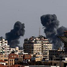"""Jungtinės Tautos """"giliai susirūpinusios"""" dėl smurto atsinaujinimo Izraelyje"""