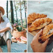 Tinklaraštininkė K. Pišniukaitė-Šimkienė: valgymas lauke – didelis malonumas