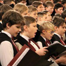 Berniukų chorų festivalyje skambės baltų mitologijos įkvėpta kantata