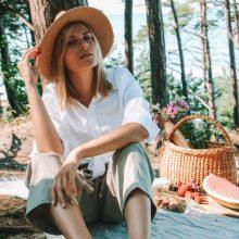 Galimybė: K.Pišniukaitė-Šimkienė dažnai surengia iškylų ir nelaukdama savaitgalio – pavalgyti gamtoje galima ir po darbo šiokiadieniais.