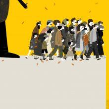1-ojoje Kauno iliustracijų bienalėje – iš stalčių iššokę kūriniai