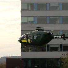 Sostinėje ratus suko Valstybės sienos apsaugos tarnybos sraigtasparnis: išvaizda – apgaulinga