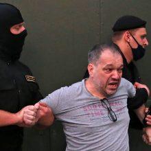Baltarusiai vėl prašo tarptautinės pagalbos – vien S. Tichanovskajos indėlio nebepakanka