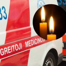 Avarija baigėsi tragedija: ligoninėje mirė Šiauliuose sužeistas motociklininkas