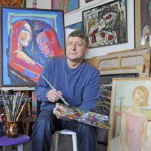 Naujojoje Klaipėdos galerijoje vieši žymaus rusų dailininko paroda