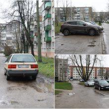 Kiemuose – karas dėl vietos automobiliams: kai kurie sulauks pokyčių