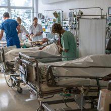 Klaipėdoje ligoninėje mirė vyras