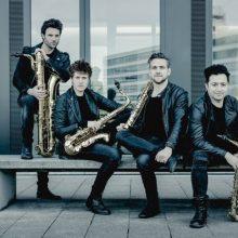 """""""Salve Musica"""": pasakos saksofonams su orkestru"""