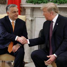 D. Trumpas rado, už ką pagirti autoritarišką Vengrijos premjerą