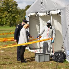 Per pratybas Vilniaus rajone – treniruotė reaguoti į avariją Astravo AE