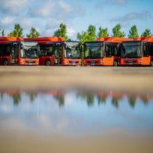 Vilniaus gatvėmis kursuos 50 naujų dujinių autobusų