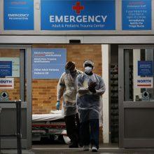 JAV užfiksuotos 749 naujos mirtys nuo COVID-19