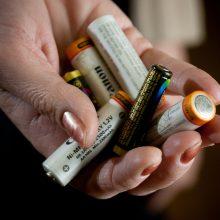 Aplinkos ministerija: Lietuvai būtina didinti baterijų surinkimą
