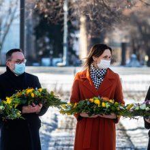 Premjerė I. Šimonytė: tikime laisvos Baltarusijos pergale