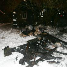 Panevėžio rajone – tragiškas gaisras: sudegė sodo namelio šeimininkas