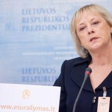 Vyriausybė spręs dėl Statistikos departamento vadovės atleidimo