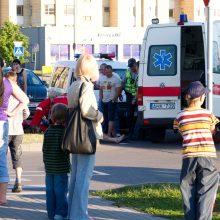 Nelaimė Vilniuje: dviratis partrenkė nėščią moterį