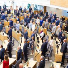 Vyriausybės prioritetai Seimo rudens sesijai – biudžetas ir programa