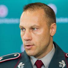 Vyriausybė siūlo prezidentui atleisti kadenciją baigiantį L. Pernavą