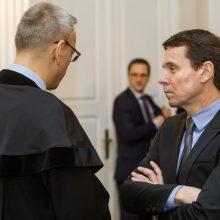 Teismas atmetė prokuroro prašymą dėl kardomosios priemonės R. Kurlianskiui
