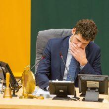 R. Žemaitaitis atleistas iš Seimo vicepirmininko posto