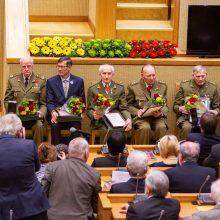 Laisvės premija apdovanotus partizanus rusų kanalas išvadino vaikų žudikais