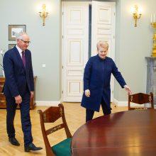 Naujasis švietimo ministras: pirmas darbas – mažinti įtampą