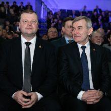 Premjeras: su liberalais į rinkimus einantis V. Pranckietis turėtų trauktis