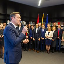 Kandidato į Vilniaus merus A. Zuoko komandoje – garsios pavardės