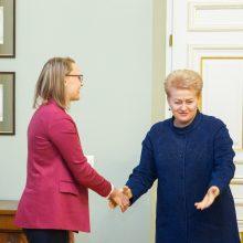 Prezidentūra: D. Grybauskaitė nedavė jokių pažadų S. Skverneliui
