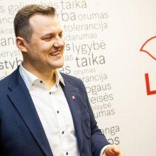 Didžiausia šalies partija socialdemokratai renka pirmininką