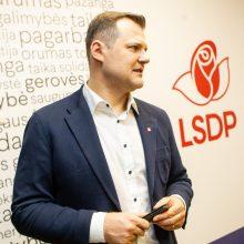 Socialdemokratai patvirtino: parlamentarų mandatų sieks rinkimuose rugsėjį
