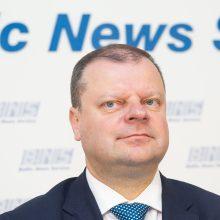 S. Skvernelio prezidento rinkimų štabui vadovaus V. Bakas