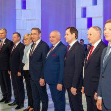 VRK: debatuose kandidatai gali būti skirstomi pagal apklausų rezultatus