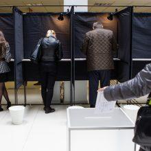 Teks perbraižyti ribas: nustatyto dydžio nebeatitinka 18 rinkimų apygardų
