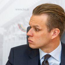 G. Landsbergis: ministras patvirtino, kad gynybos susitarimas nevykdomas