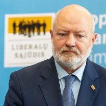 Liberalų valdyba patvirtino penkis kandidatus į pirmininko postą