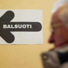 Seimo rinkimai: penktadienį prasideda balsavimas namuose