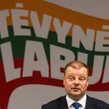 Užregistruota nauja partija užminė mįslę: S. Skvernelis ruošiasi rinkimams?
