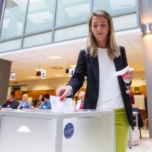 Prasideda balsavimas iš anksto prezidento ir EP rinkimuose
