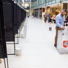 Išankstinis balsavimas: pradeda balsuoti rinkėjai ligoninėse, slaugos namuose