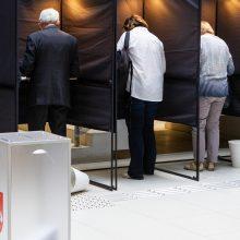 Prezidento rinkimų antrajame ture iš anksto jau balsavo 4 proc. rinkėjų