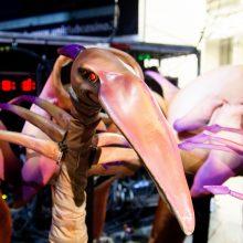 """""""Siemens"""" arenoje įsikūrusi """"Cirque du Soleil"""" trupė parodė užkulisius"""